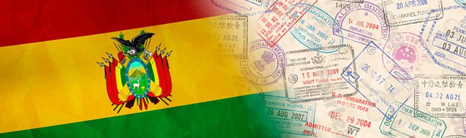 Servicio de visados para Bolivia